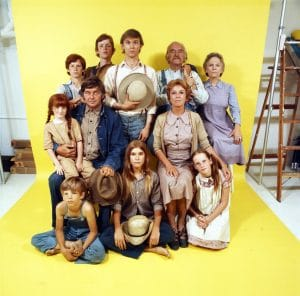 The Waltons, a group of wholesome characters whose actors, in fact, faced many hurdles