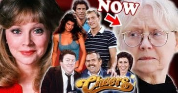 The cast of 'Cheers' then and now