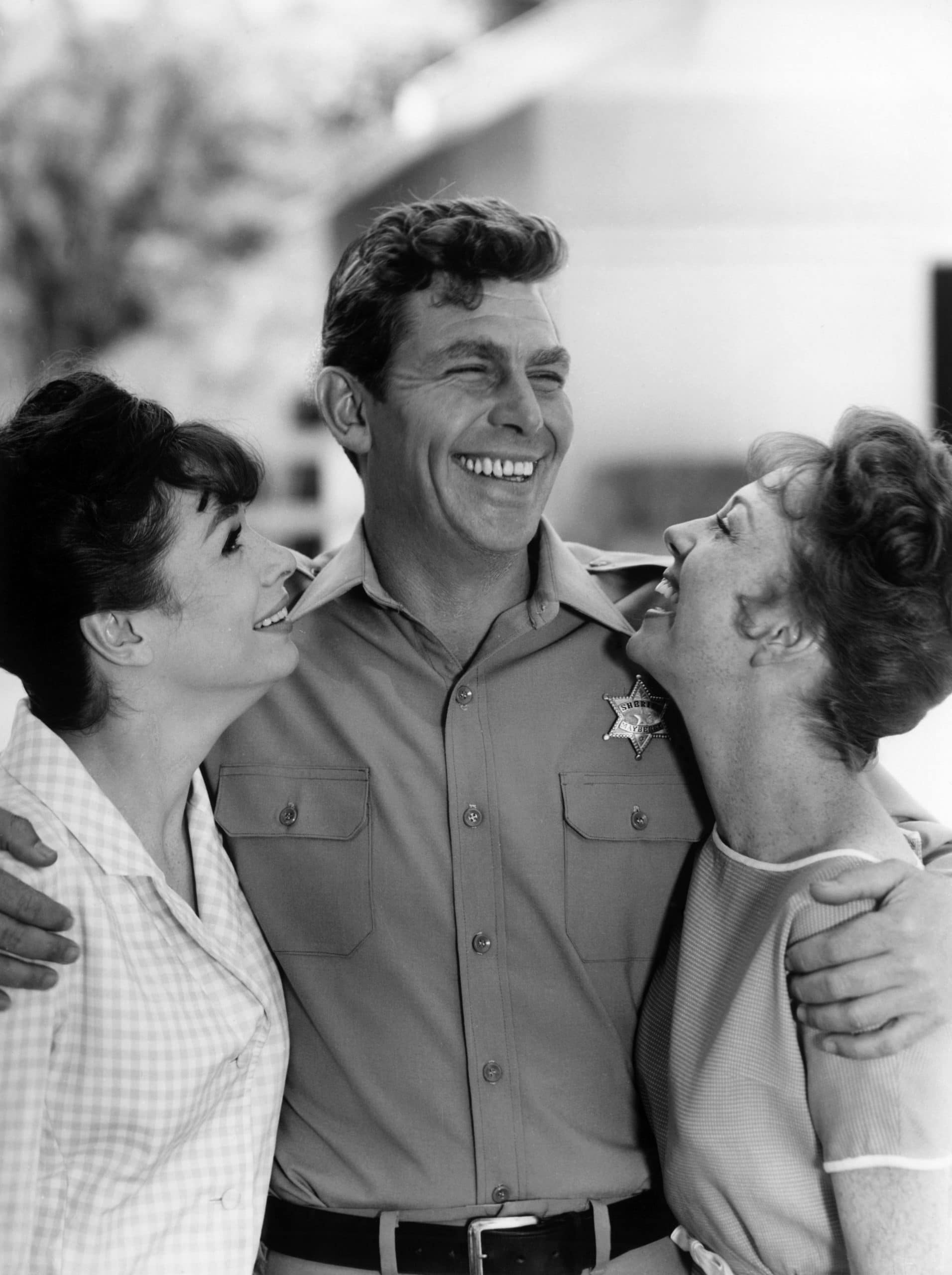 THE ANDY GRIFFITH SHOW, Aneta Corsaut, Andy Griffith, Betty Lynn