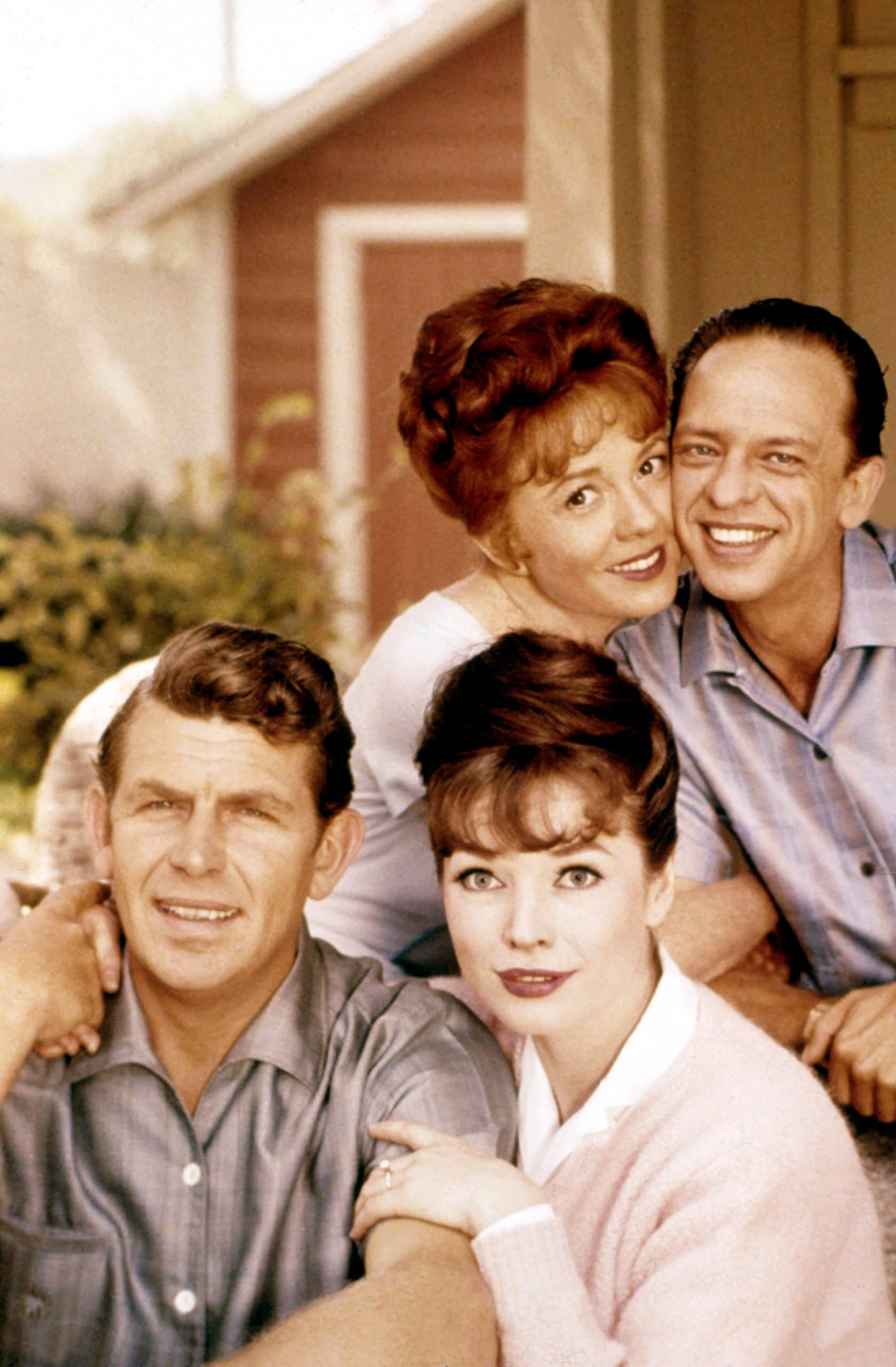 THE ANDY GRIFFITH SHOW, Betty Lynn, Don Knotts, Aneta Corseaut, Andy Griffith