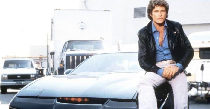 david hasselhoff auctioning off KITT car