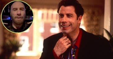 john travolta returns to social media with sweet message
