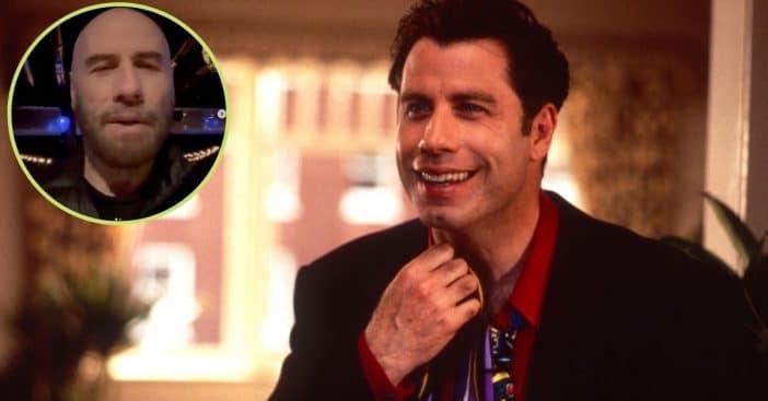 john travolta returns to social media with sweet message