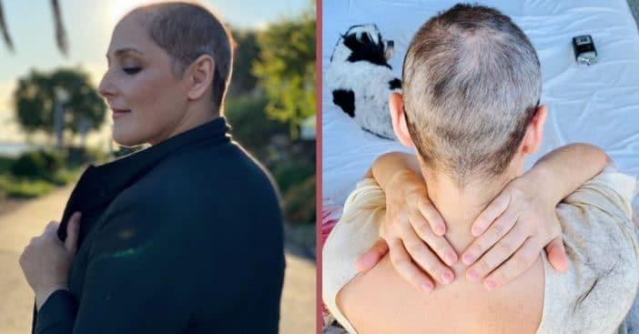 ricki lake talks about 30-year struggle with hair loss