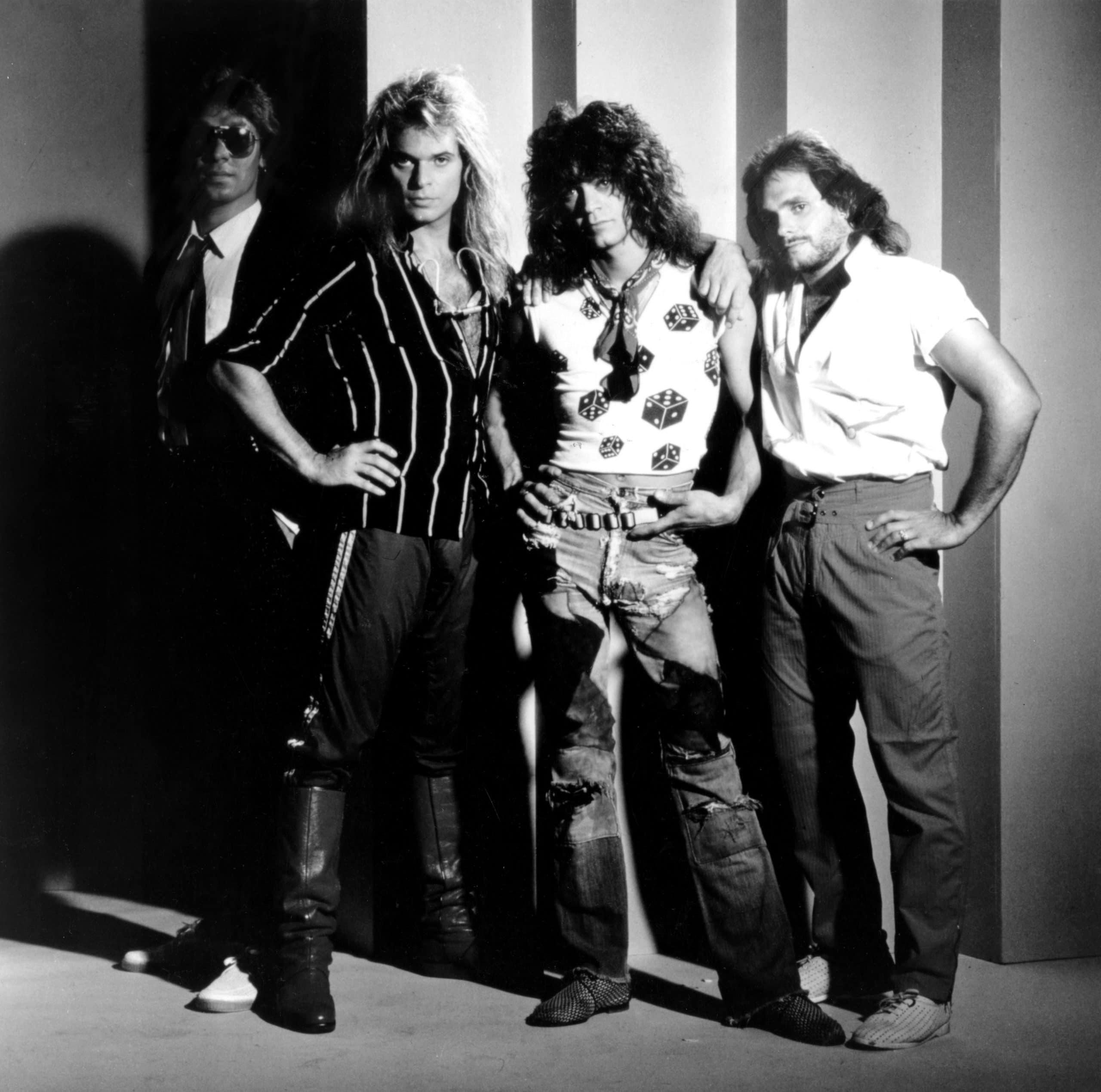 VAN HALEN, Alex van Halen, David Lee Roth, Eddie Van Halen, Michael Anthony