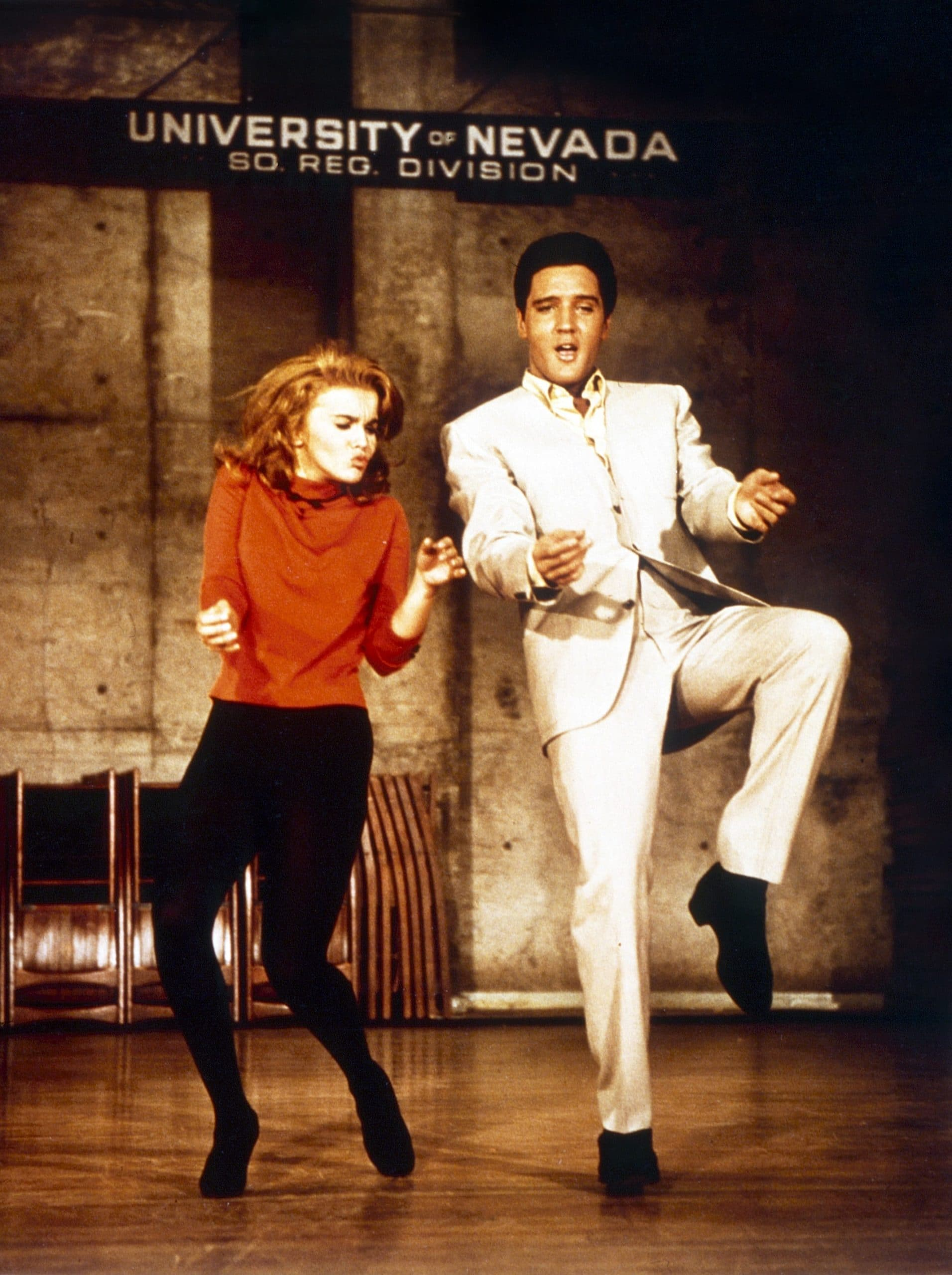 VIVA LAS VEGAS, from left: Ann-Margret, Elvis Presley, 1964