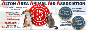 5As animal shelter provides their charges with all the special medicaitons and food they need until they get that final necessity: a forever home