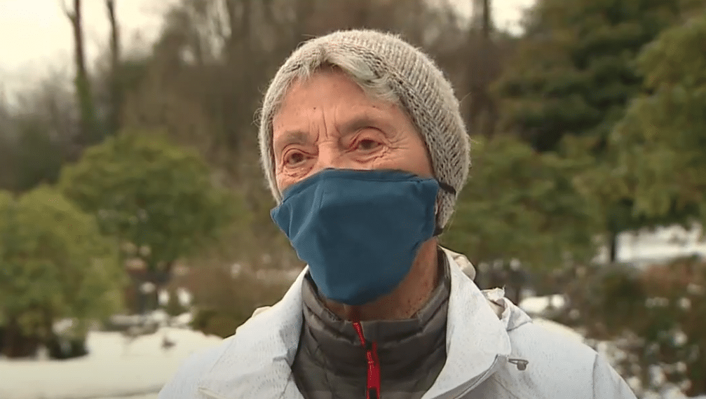 90-Year-Old Walks 6 Miles In The Snow For COVID-19 Vaccine