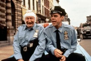 Al Lewis and David Johansen in Car 54, Where Are You