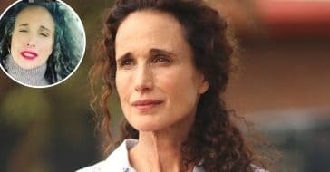 Andie MacDowell is embracing being a silver fox