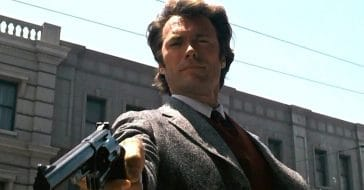 Eastwood as Dirty Harry Callahan