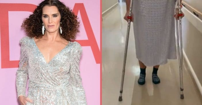 Fitness fan Brooke Shields now must focus on healing properly