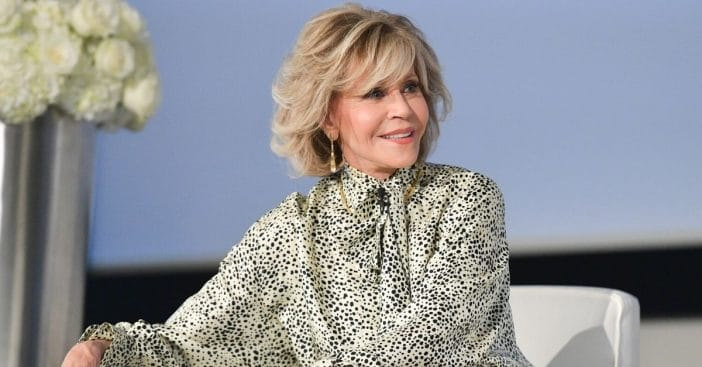 Jane Fonda shares her bedtime routine