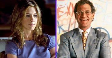 Jennifer Aniston Fans Slam David Letterman For Licking Her Hair In Old Clip