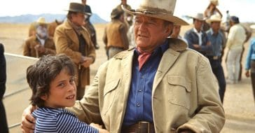 John Wayne's children's earliest roles came working alongside their famous father