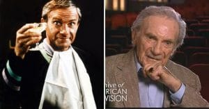 Jonathan Harris as the nefarious Dr. Smith, and reminiscing on his intergalactic role