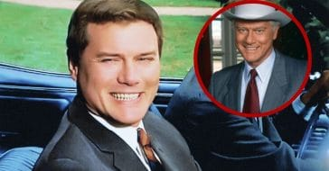 Larry Hagman before and after