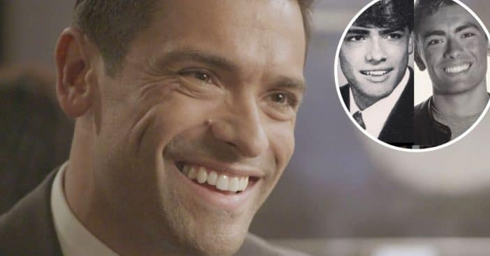 Mark Consuelos and son look like twins in throwback photo
