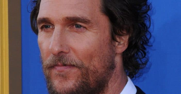 Matthew McConaughey to hold virtual benefit for Texans