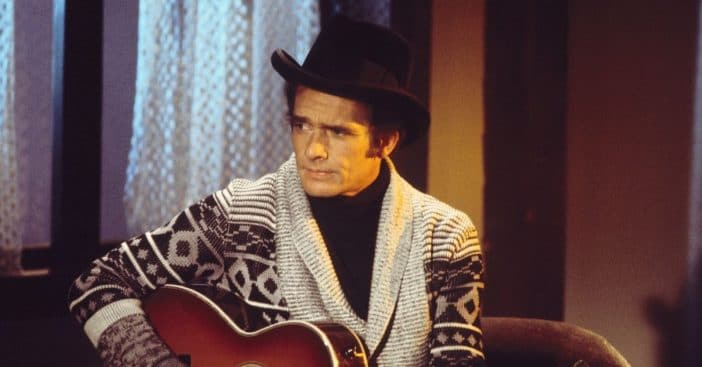 Merle Haggard once appeared on The Waltons