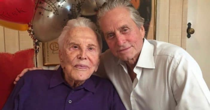 Michael Douglas shares a tribute to his late father Kirk Douglas one year later