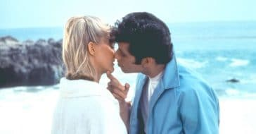 Olivia Newton John talks about kissing John Travolta in Grease