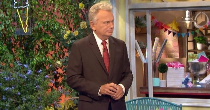 Pat Sajak faced critcism for mocking a contestant's speech impediment by imitaitng his lisp