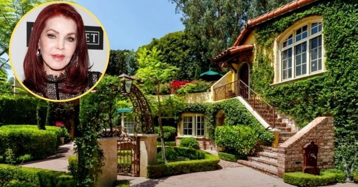 Priscilla Presley Giving Up Her $13M Beverly Hills Mansion, Downsizing To Condo