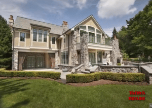 Rosie O'Donnell's New Jersey mansion sits on five acres of land with several amenities