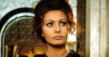 Sophia Loren talks about being nervous around other big stars