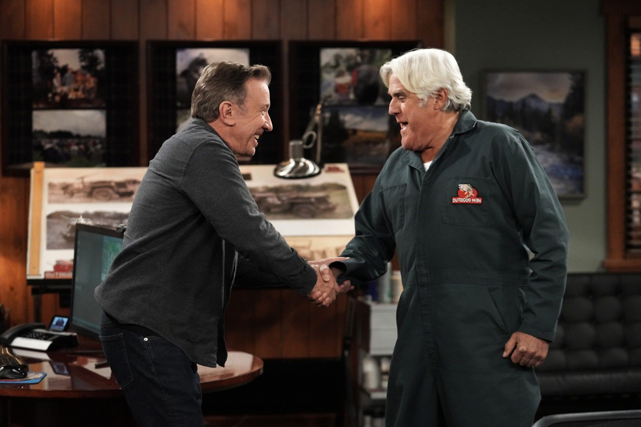 Tim Allen's Mike Baxter Faces Off Against Jay Leno On 'Last Man Standing'