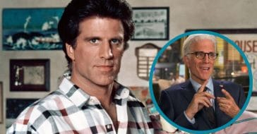 Ted Danson then and now