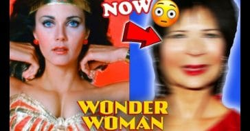The cast of 'Wonder Woman' then and now