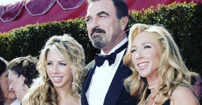 Tom Selleck, his wife Jillie Mack, and their daughter Hannah