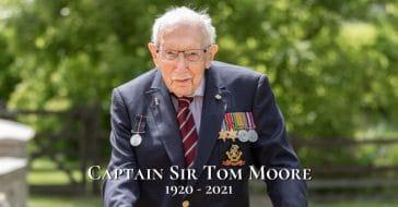capt. tom moore dead