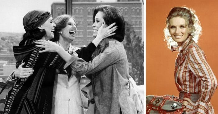cloris leachman emotional reunion with mary tyler moore co-stars
