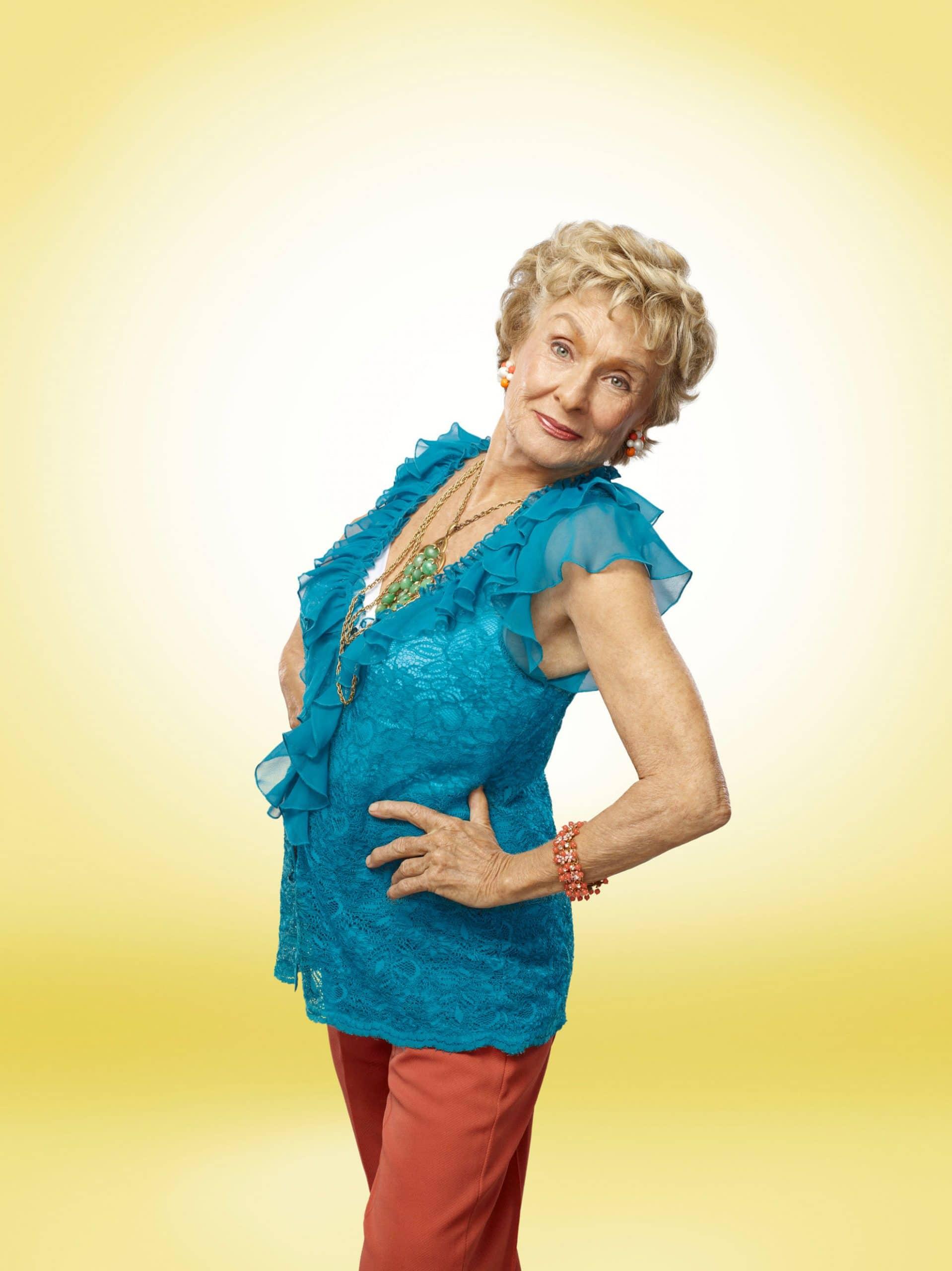 RAISING HOPE, Cloris Leachman