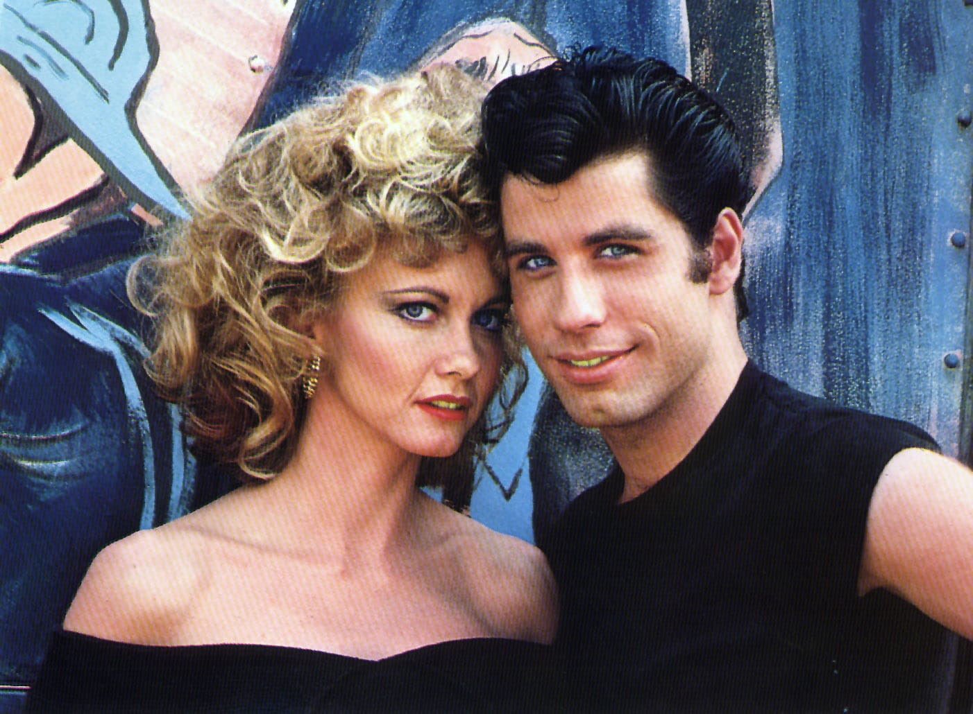 GREASE, Olivia Newton-John, John Travolta