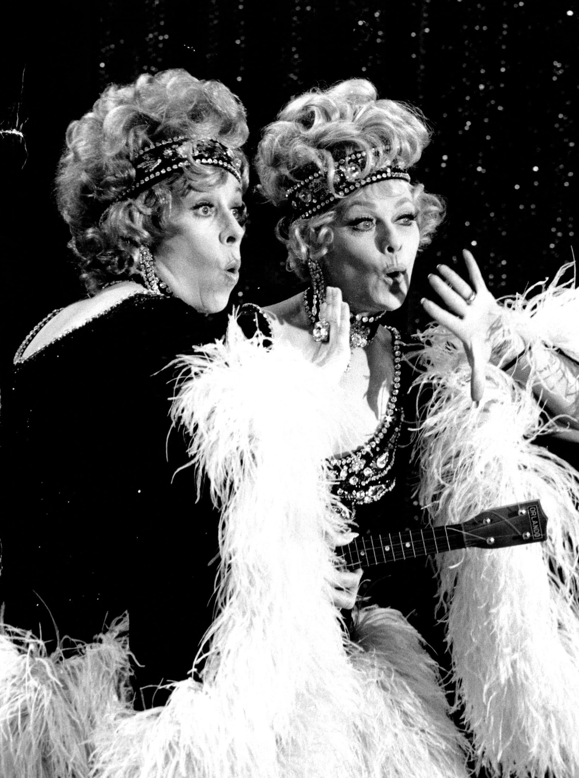THE CAROL BURNETT SHOW, Carol Burnett, Lucille Ball