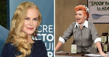 nicole kidman on playing lucille ball