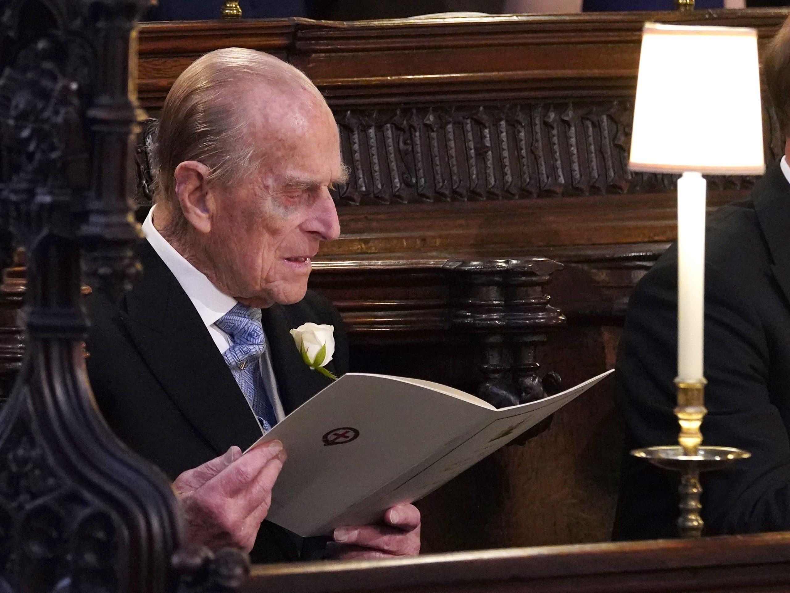 prince philip reading