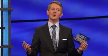 rare ending for second week on jeopardy for ken jennings