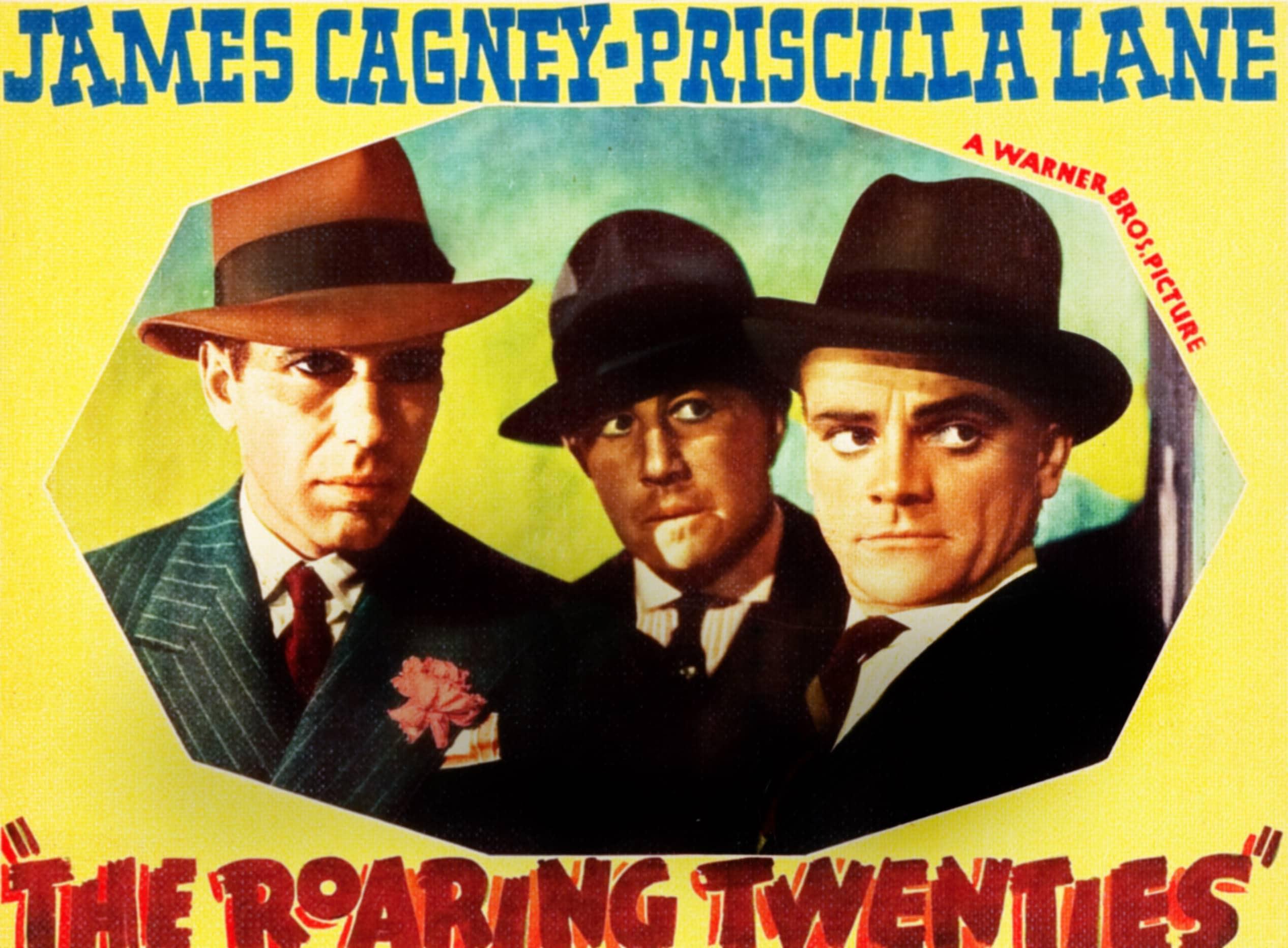 THE ROARING TWENTIES, l-r: Humphrey Bogart, Raymond Bailey, James Cagney