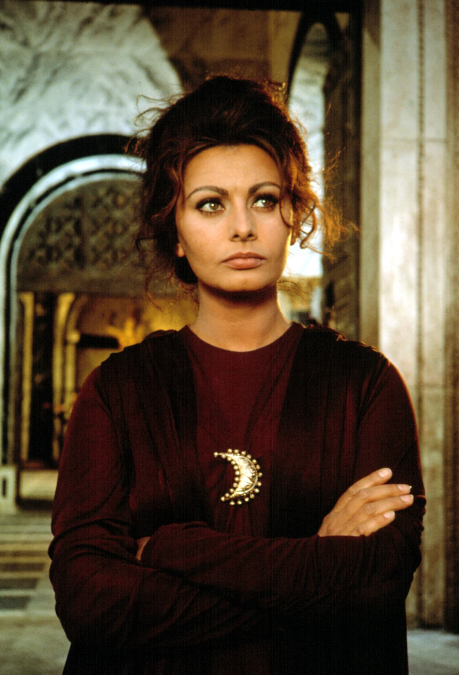 THE FALL OF THE ROMAN EMPIRE, Sophia Loren, 1964