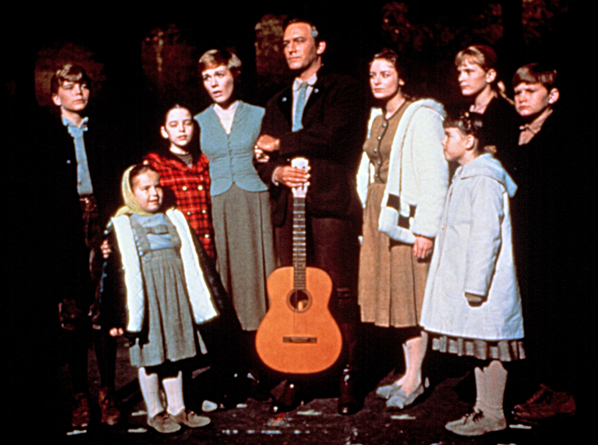 THE SOUND OF MUSIC, Julie Andrews, Christopher Plummer, 1965