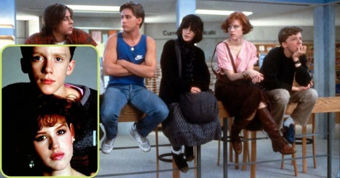 these breakfast club actors actually dated in real life