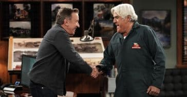 tim allen and jay leno butt heads on last man standing episode