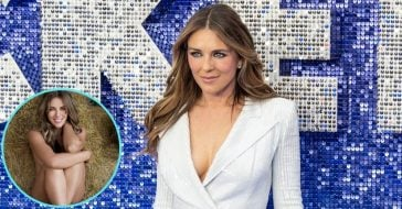 55-Year-Old Elizabeth Hurley Goes Totally Nude For New Sexy Photo