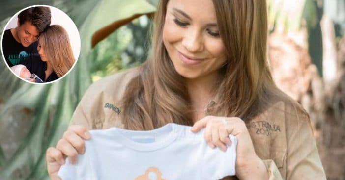 Bindi Irwin had her baby