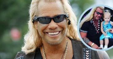 Duane Chapman Poses With Granddaughter